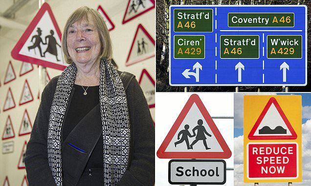 The genius South African woman who put British road signs on the map