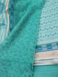Hand Printed Maheshwari Suit