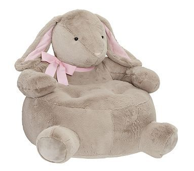 123 best hare chair images on pinterest rabbit bunnies for Kids fluffy chair