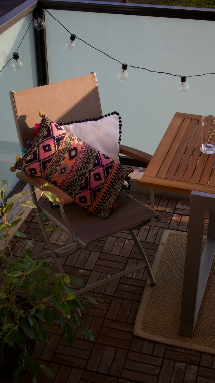 25+ Best Ideas About Lichterkette Balkon On Pinterest ... 17 Kissen Designs Gute Laune Sommer