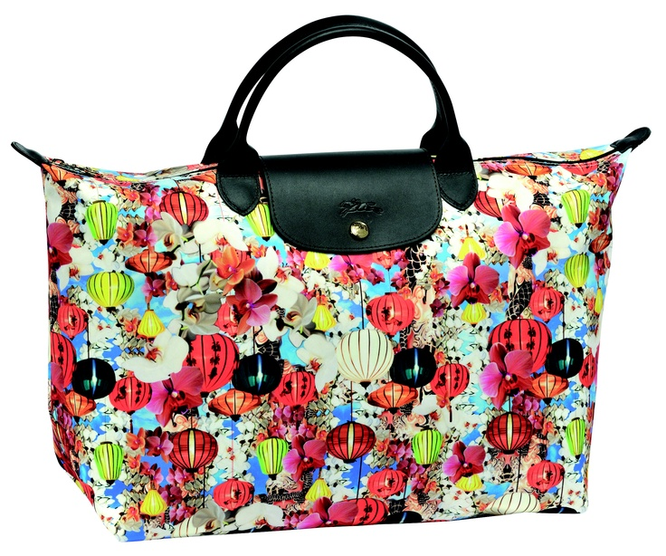 Le Pliage by Mary Katrantzou. Longchamp Collection SS 2012