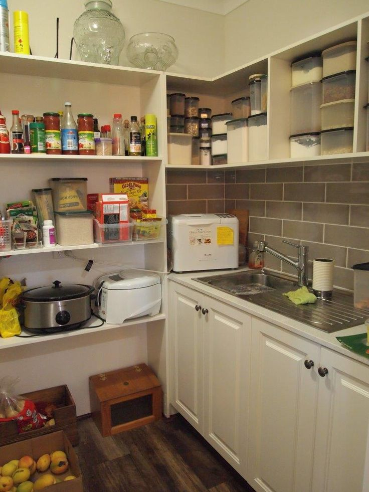 Scullery in one of our homes