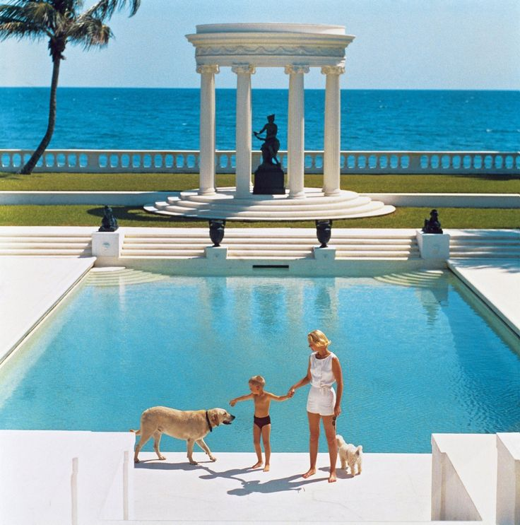 Attractive Perhaps Itu0027s That Slim Aarons Would Be Celebrating His 100th Birthday Later  This October, But