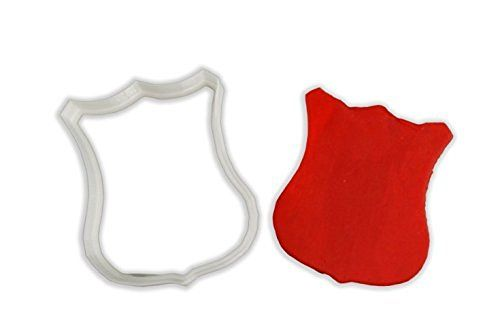 Fire Badge Cookie Cutter - LARGE - 4&#34…