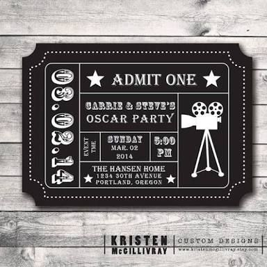 Image result for oscars ticket after party