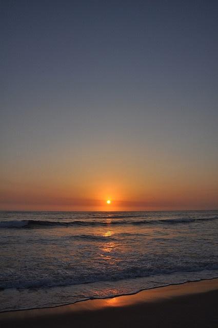 #sunrise at surfer's paradise #australia