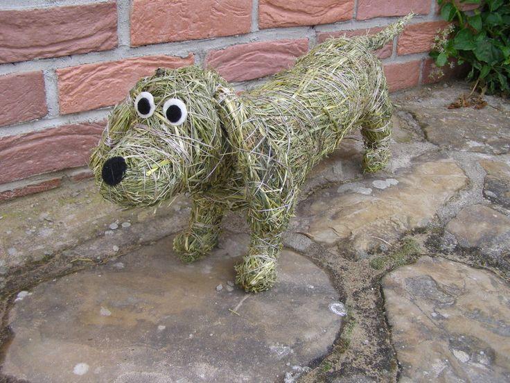 Zvířátka ze sena | Výrobky z přírodních materiálů