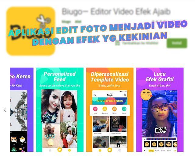 Aplikasi Baru Biugo Edit Foto Menjadi Video Untuk Media Sosial Makin Menarik Pengeditan Foto Video Aplikasi