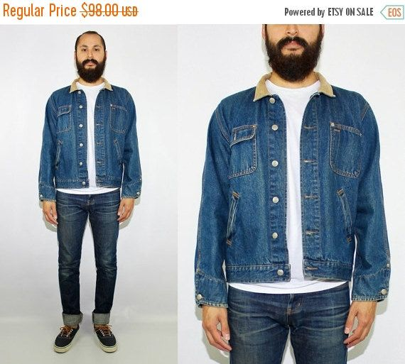 ON SALE 90s Vintage Polo Jeans Co Ralph Lauren Denim Barn Jacket  Polo Ralph Lauren - Polo Sport by DiveVintage from Passport Vintage. Find it now at http://ift.tt/2hWFpKQ!