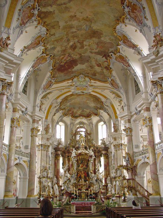 2005-07-01 07-04 Oberfranken, Thüringen 012 Basilika Vierzehnheiligen by Allie_Caulfield