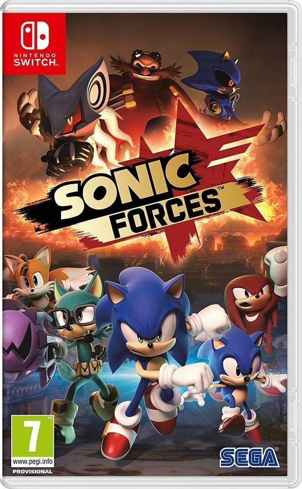 Sonic Forces Nintendo Switch Nuevo Precintado Español Fisico Castellano Informática Y Tablets Otros Ebay Sonic Figuras Pokemon Juegos De Pokemon