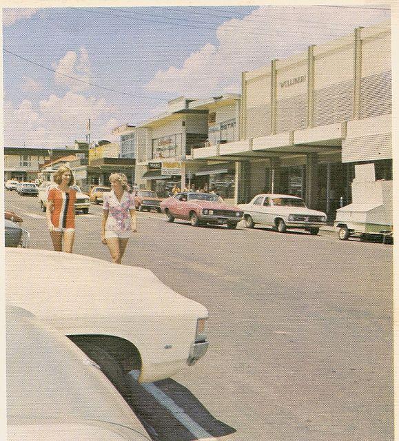 Miles Street Mount Isa, 1974