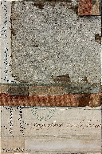 I love the textures.  Antique Papers by Cecil Touchon