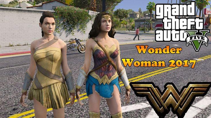 GTA 5 моды - Wonder Woman 2017