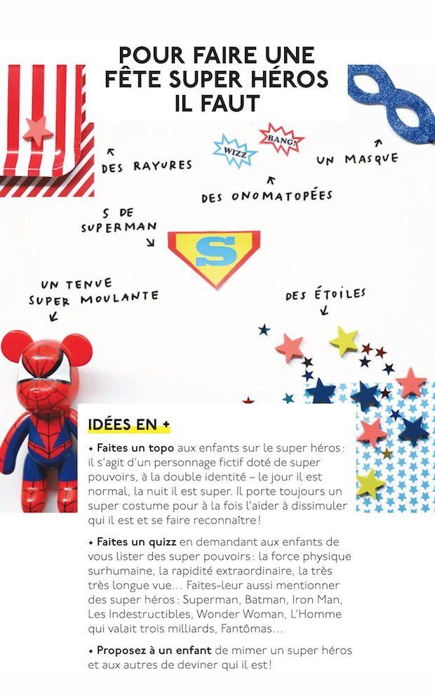 Un thème de fête : super-héros