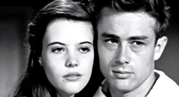 Lois Smith and James Dean