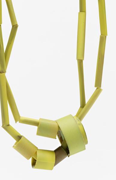 Sally Marsland, Untitled, 2012, necklace (detail), polyurethane resin, 450 mm long, photo: Jeremy Dillon
