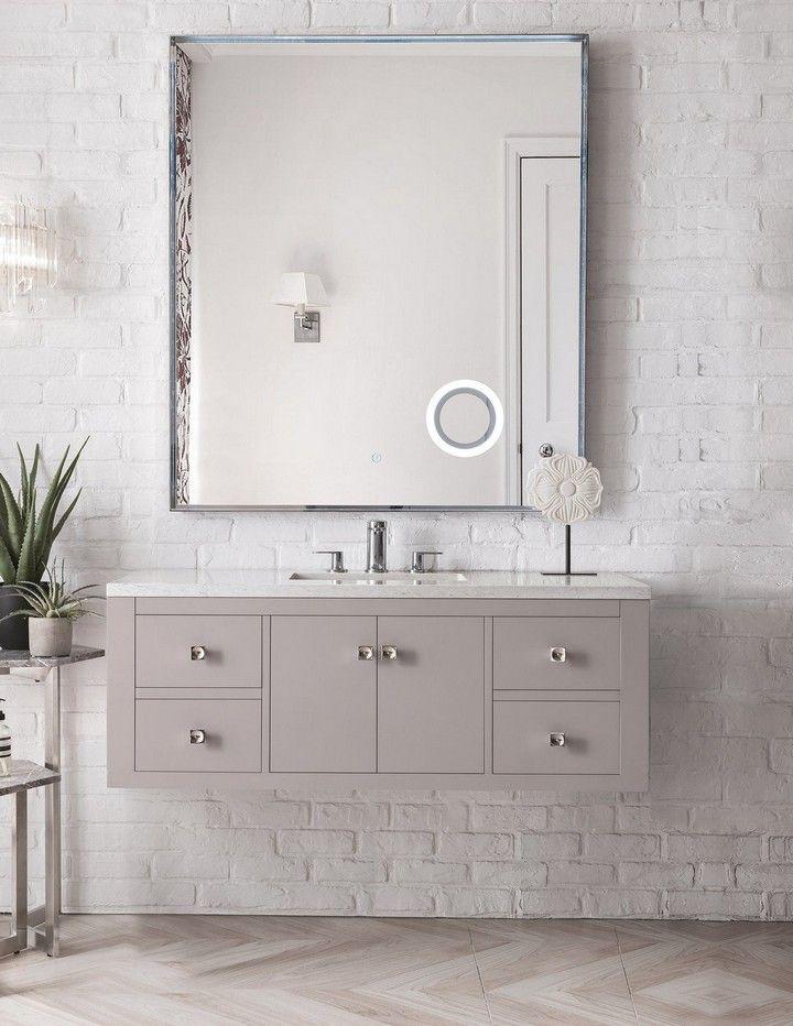15 Best Bathroom Mirror Ideas For Single Sink Single Bathroom Vanity Bathroom Vanity Bathroom Design