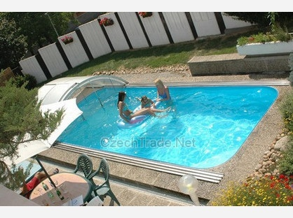 383 best images about piscinas on pinterest gardens for Piscina 7x3