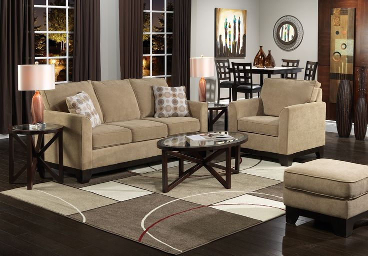 Living Room Furniture-The Sand Castle Collection-Sand Castle Sofa
