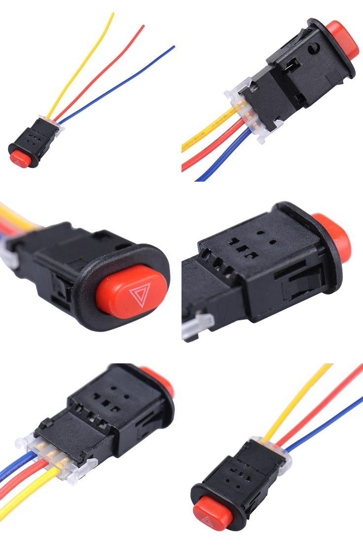 Fig 2 two way light switching 3 wire system new harmonised cable -  Visit To Buy New 2017 Motorcycle Switch Hazard Light Switch 3 Wires Built