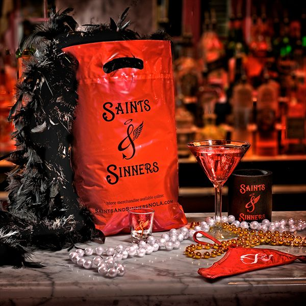 Am I the only naive woman to visit this place in hopes there's a fraction of a chance to see some Chan action!?!   Saints & Sinners - New Orleans