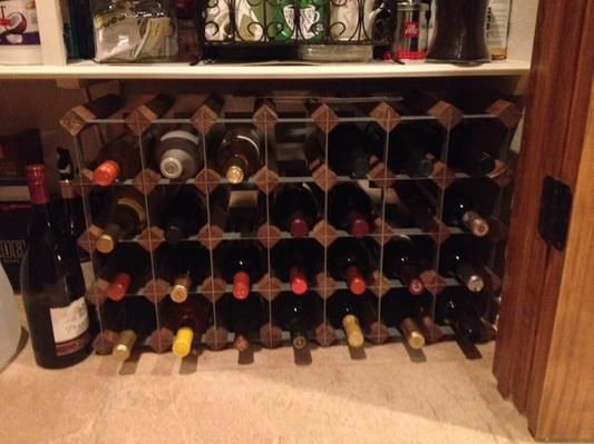 in lieu of a wine cellar, this works really well!