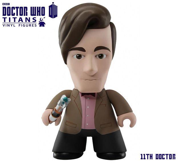 Doctor Who TITANS: War Doctor, 9º Doctor, 10º Doctor, 11º Doctor e 12º Doctor de Peter Capaldi