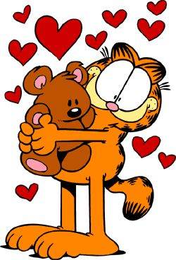 Garfield was a shared love between my cousin Michael and I. I still sit down and color pictures of Garfield when I'm missing Mikey.