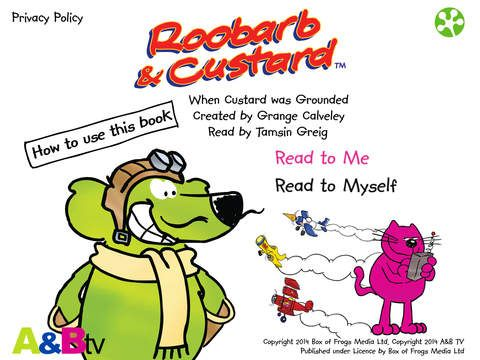 Roobarb & Custard: When Custard was Grounded - Educational App