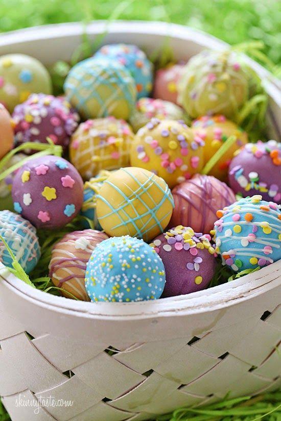 Γλυκές Τρέλες: Πασχαλινά αυγουλάκια από κεικ!