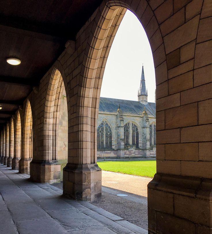 King's College in Aberdeen, Scotland (looks like Hogwarts!)