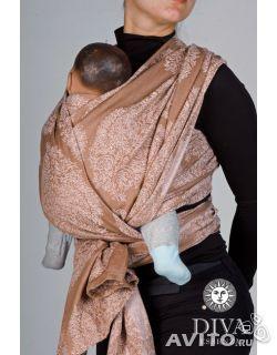 3400 Продаю отличный слинг-шарф 5.2м. Покупала в канун нового 2013 года перед родами. Пользовалась с одним малышом, дочей, с самого рождения, точнее с 5 суток. Наматывать обучилась на сайте Слингопарк по видео-роликам, там все просто и наглядно. С 5 месяцев ...