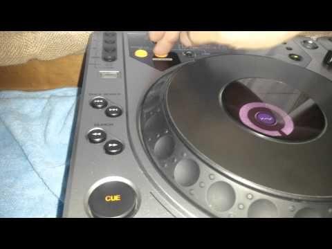 Pioneer CDJ 800 MK1 - YouTube