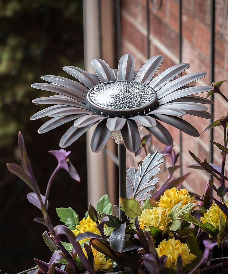 Take a look at this Daisy Solar Garden Light today!
