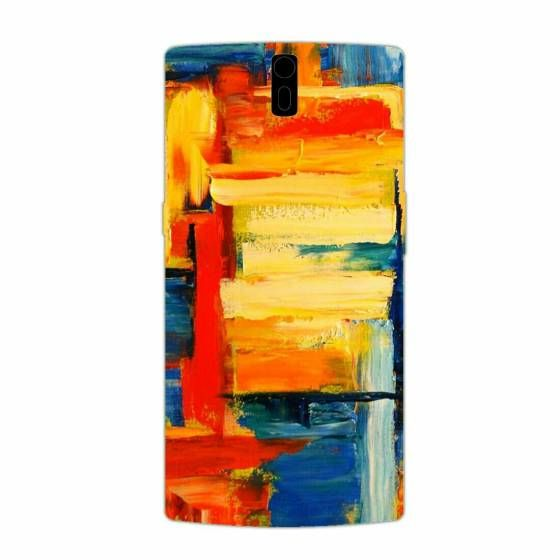 Shopo.in : Buy Oneplus One Phone Cover Case - Abstract online at best price in Mumbai, India