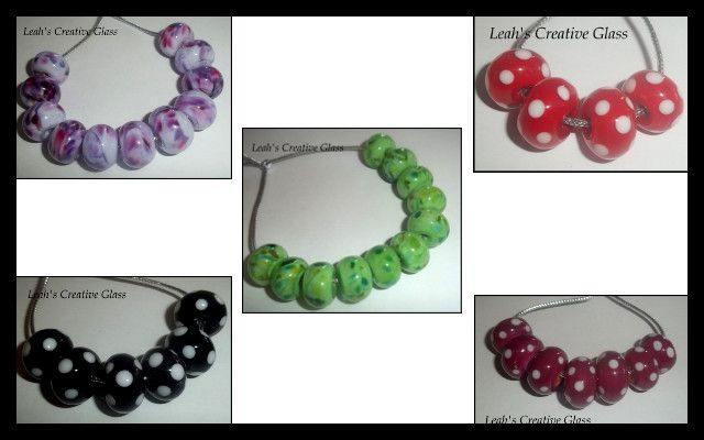 My current bead sets available at https://www.facebook.com/groups/australian.art.beads/