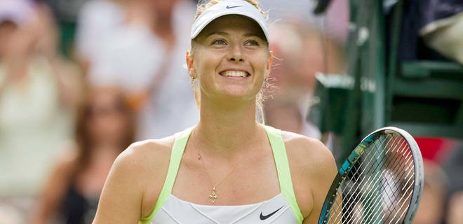 Maria Sharapova had a concise retort to Gilles Simon's comments.  Equal Pay!!