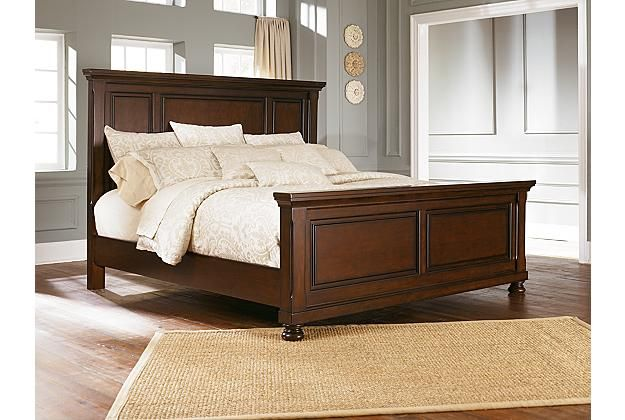 Porter traditional panel bed frame View 1