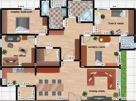 La cocina se ha integrado con un amplio living comedor con for Living y cocina integrados