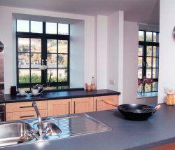 Kawneer powder coated aluminium window
