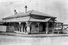 Queensland National Bank in 1890.
