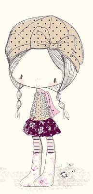 All about surface pattern ,textiles and graphics: Autumn girls