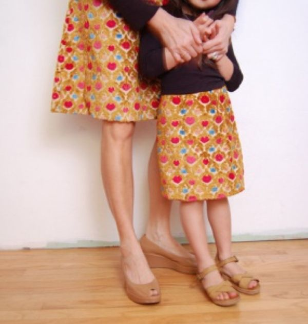 """#Learn to #make your own #clothes ! Come on our one day """"Make an A-line #skirt #course """" at The Gilliangladrag Fluff-a-torium"""