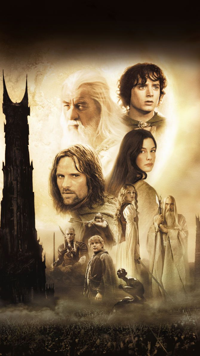 The Lord Of The Rings The Two Towers 2002 Phone Wallpaper The