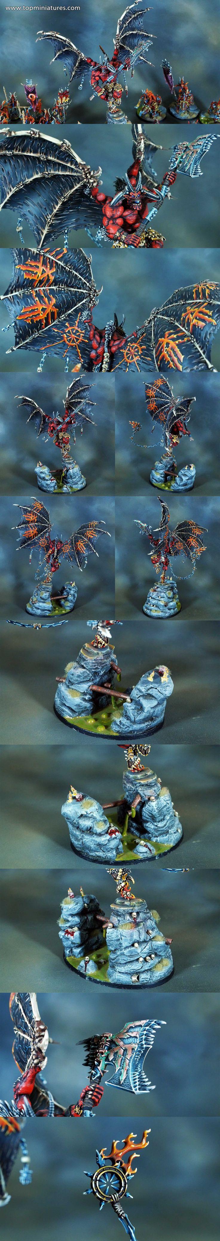 Warhammer 40k chaos daemons bloodthirster of khorne