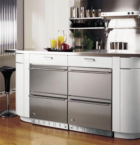 Réfrigérateur sous plan / en inox ZIDS240BSS Monogram