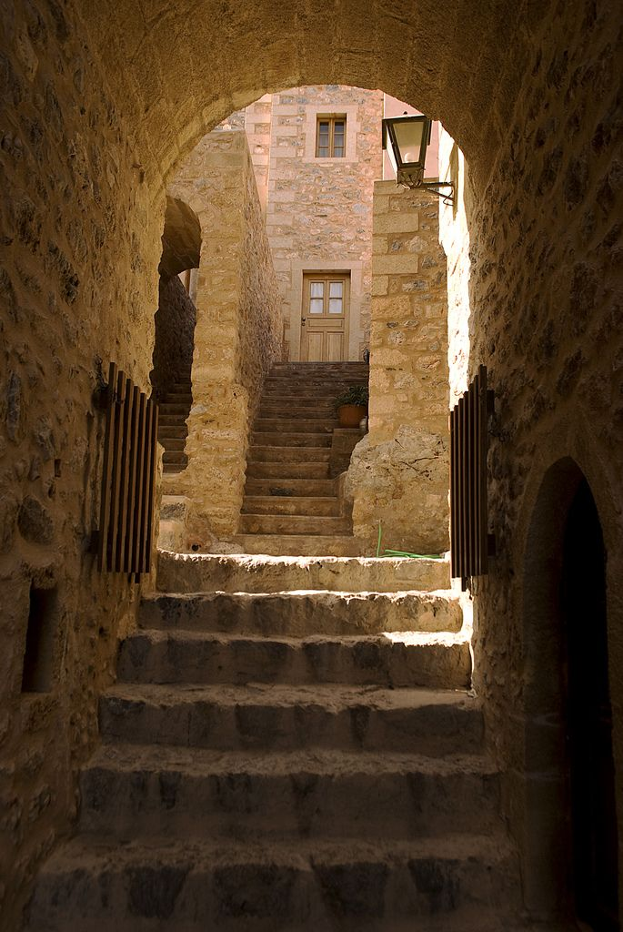 Monemvasia is a town n a municipality in Laconia_ Greece