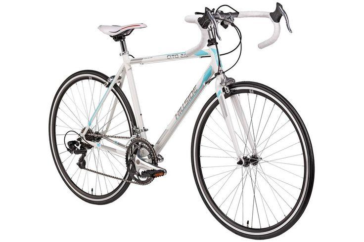 """28 Zoll Rennrad Strassenrennrad 14 Gang 28"""" Bike Fahrrad Rad Herren Damen weiß"""