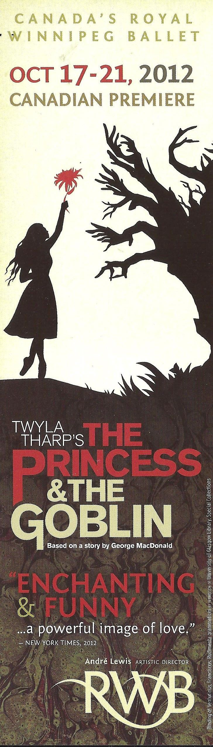 Twyla Tharp's The Princess and the Goblin (2012)